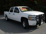2008 Summit White Chevrolet Silverado 1500 LT Crew Cab 4x4 #40353765