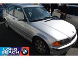 2000 Titanium Silver Metallic BMW 3 Series 323i Sedan #40353315