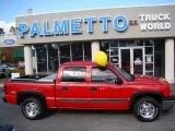 2005 Victory Red Chevrolet Silverado 1500 Z71 Crew Cab 4x4 #40410409