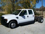 2008 Ford F350 Super Duty XL Crew Cab Chassis Data, Info and Specs
