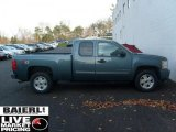 2009 Blue Granite Metallic Chevrolet Silverado 1500 LT Extended Cab 4x4 #40409926