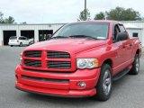 2003 Flame Red Dodge Ram 1500 ST Quad Cab #40410195
