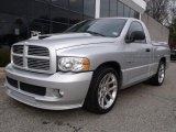 2005 Bright Silver Metallic Dodge Ram 1500 SRT-10 Regular Cab #40410713