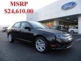 2011 Tuxedo Black Metallic Ford Fusion SE #40410221