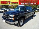 2006 Dark Blue Metallic Chevrolet Silverado 1500 LT Crew Cab #40410739