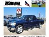 2008 Patriot Blue Pearl Dodge Ram 1500 Big Horn Edition Quad Cab #40410239