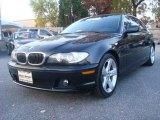 2004 Black Sapphire Metallic BMW 3 Series 325i Coupe #40410020