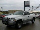 1998 Bright White Dodge Ram 1500 Laramie SLT Extended Cab 4x4 #40410275