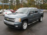 2007 Blue Granite Metallic Chevrolet Silverado 1500 LT Crew Cab #40410764