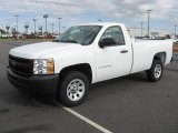 2011 Summit White Chevrolet Silverado 1500 Regular Cab #40410541