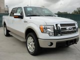 2010 Oxford White Ford F150 King Ranch SuperCrew 4x4 #40410297