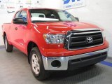 2010 Radiant Red Toyota Tundra Double Cab 4x4 #40410569