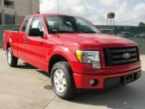 2010 Vermillion Red Ford F150 STX SuperCab #40410303