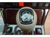 Mercedes-Benz SL 1998 Badges and Logos