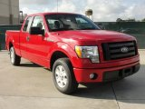 2010 Vermillion Red Ford F150 STX SuperCab #40410304