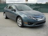 2011 Steel Blue Metallic Ford Fusion SE #40410306