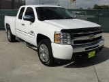 2009 Summit White Chevrolet Silverado 1500 LT Texas Edition Extended Cab #40410310