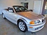2001 Titanium Silver Metallic BMW 3 Series 325i Convertible #40410861