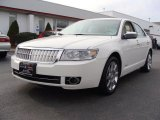 2008 White Suede Lincoln MKZ AWD Sedan #40410330