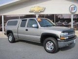 2000 Chevrolet Silverado 1500 Sunset Gold Metallic