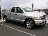 2006 Bright Silver Metallic Dodge Ram 1500 SLT Quad Cab #40410625