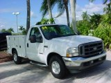 2004 Oxford White Ford F250 Super Duty XL Regular Cab Chassis #40410149