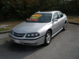 2001 Galaxy Silver Metallic Chevrolet Impala LS #40410907