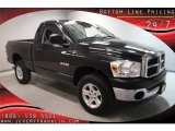 2008 Mineral Gray Metallic Dodge Ram 1500 SXT Regular Cab 4x4 #40478986