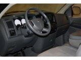 2008 Dodge Ram 1500 SXT Regular Cab 4x4 Medium Slate Gray Interior