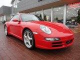 2008 Porsche 911 Guards Red