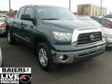 2008 Timberland Green Mica Toyota Tundra SR5 Double Cab 4x4 #40478763