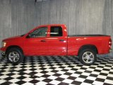 2007 Flame Red Dodge Ram 1500 ST Quad Cab 4x4 #40479268