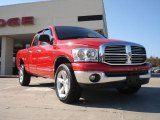 2007 Flame Red Dodge Ram 1500 ST Quad Cab 4x4 #40479542
