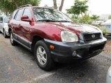 2004 Merlot Red Hyundai Santa Fe GLS #40478829