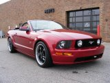 2006 Redfire Metallic Ford Mustang GT Premium Convertible #40478857