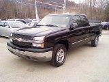 2003 Black Chevrolet Silverado 1500 LS Extended Cab 4x4 #40478863