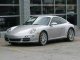2007 Arctic Silver Metallic Porsche 911 Carrera 4S Coupe #40518