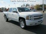 2011 Summit White Chevrolet Silverado 1500 LT Crew Cab 4x4 #40479683