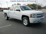 2011 Summit White Chevrolet Silverado 1500 LT Crew Cab #40479684