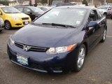 2007 Royal Blue Pearl Honda Civic EX Coupe #40479151