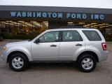 2009 Brilliant Silver Metallic Ford Escape XLS #40479404