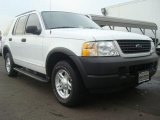 2003 Ford Explorer Oxford White