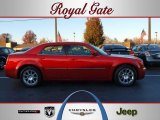 2008 Inferno Red Crystal Pearl Chrysler 300 Limited #40478924