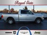 2010 Bright Silver Metallic Dodge Ram 1500 ST Quad Cab 4x4 #40478932