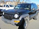 2002 Black Jeep Liberty Sport 4x4 #40479775