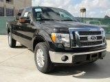 2010 Tuxedo Black Ford F150 Lariat SuperCrew 4x4 #40479216