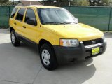 2003 Chrome Yellow Metallic Ford Escape XLS V6 #40479222