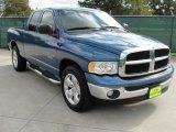 2004 Atlantic Blue Pearl Dodge Ram 1500 SLT Quad Cab #40479224