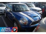 2007 Lightning Blue Metallic Mini Cooper S Hardtop #40479241