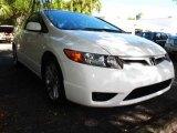2007 Taffeta White Honda Civic Si Coupe #40551175